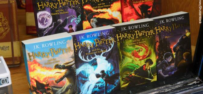 Bloomsbury Harry Potter books