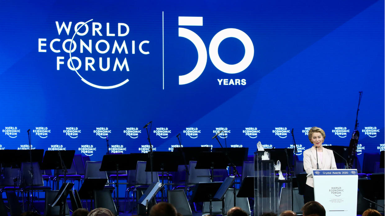 World Economic Forum opening speech in Davos