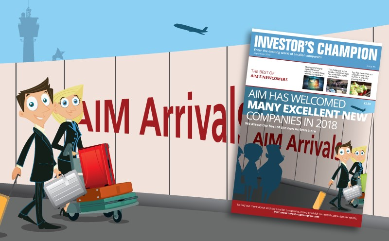 Investor's Champion magazine - the best of AIM's newcomers 2018