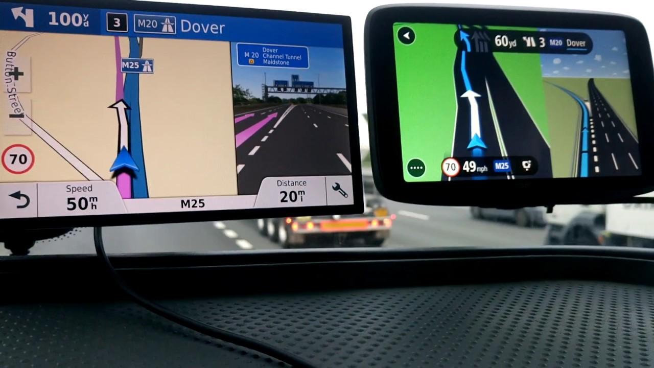 Google threat puts Garmin & TomTom on new routes