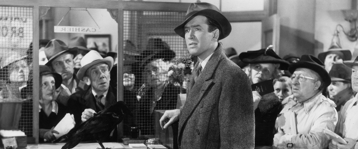 Image of George Bailey from It's a Wonderful Life