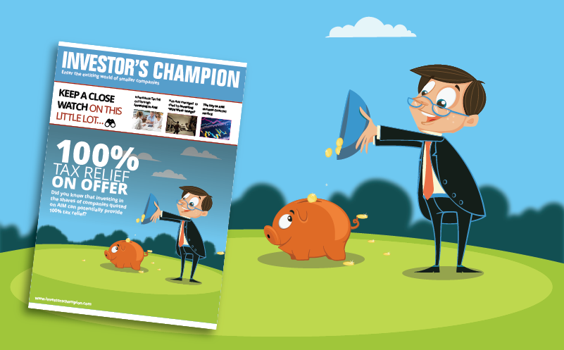Investor's Champion banner image 100% tax relief guide