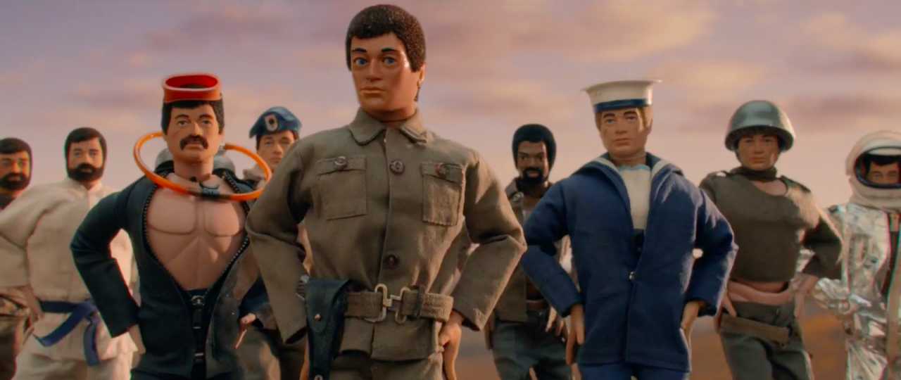 Action Man and dancers in latest Moneysupermarket.com advert