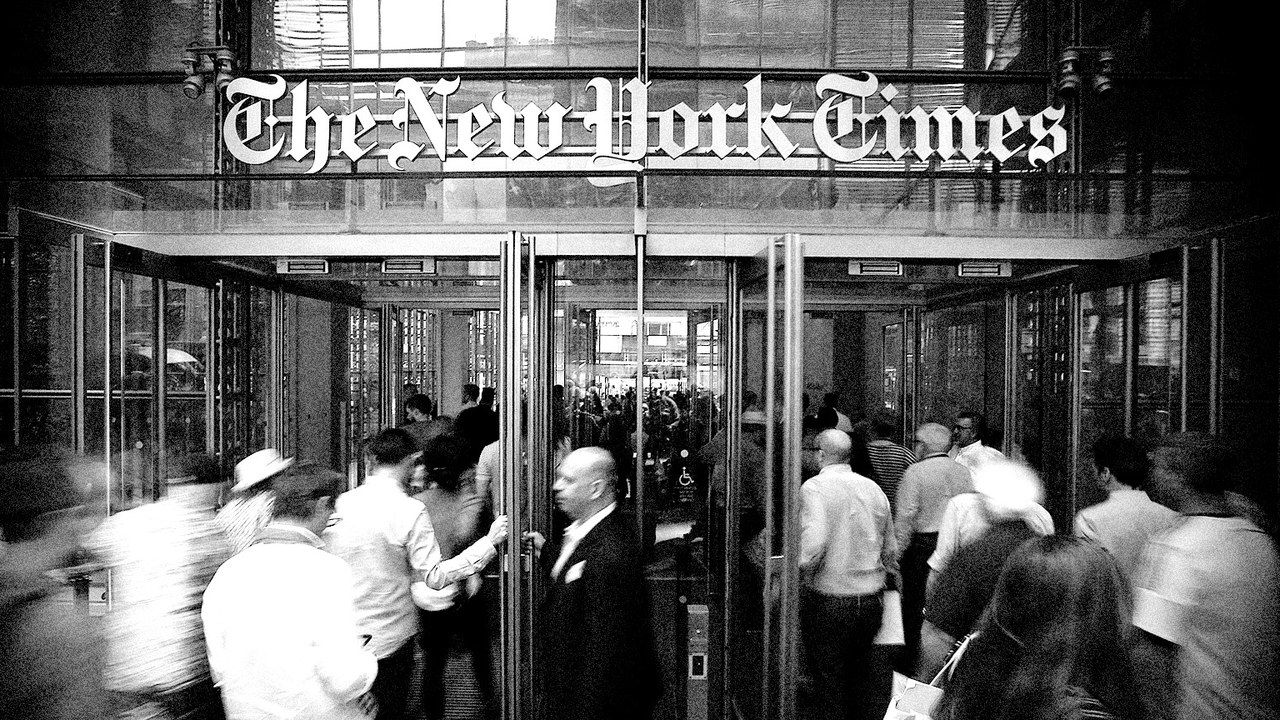 New York Times headquarters office