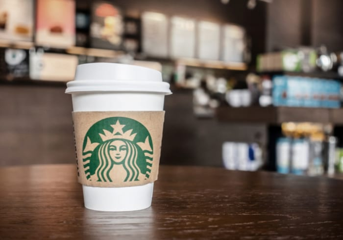 China Starbucks Foldable Coffee Cup China Starbucks