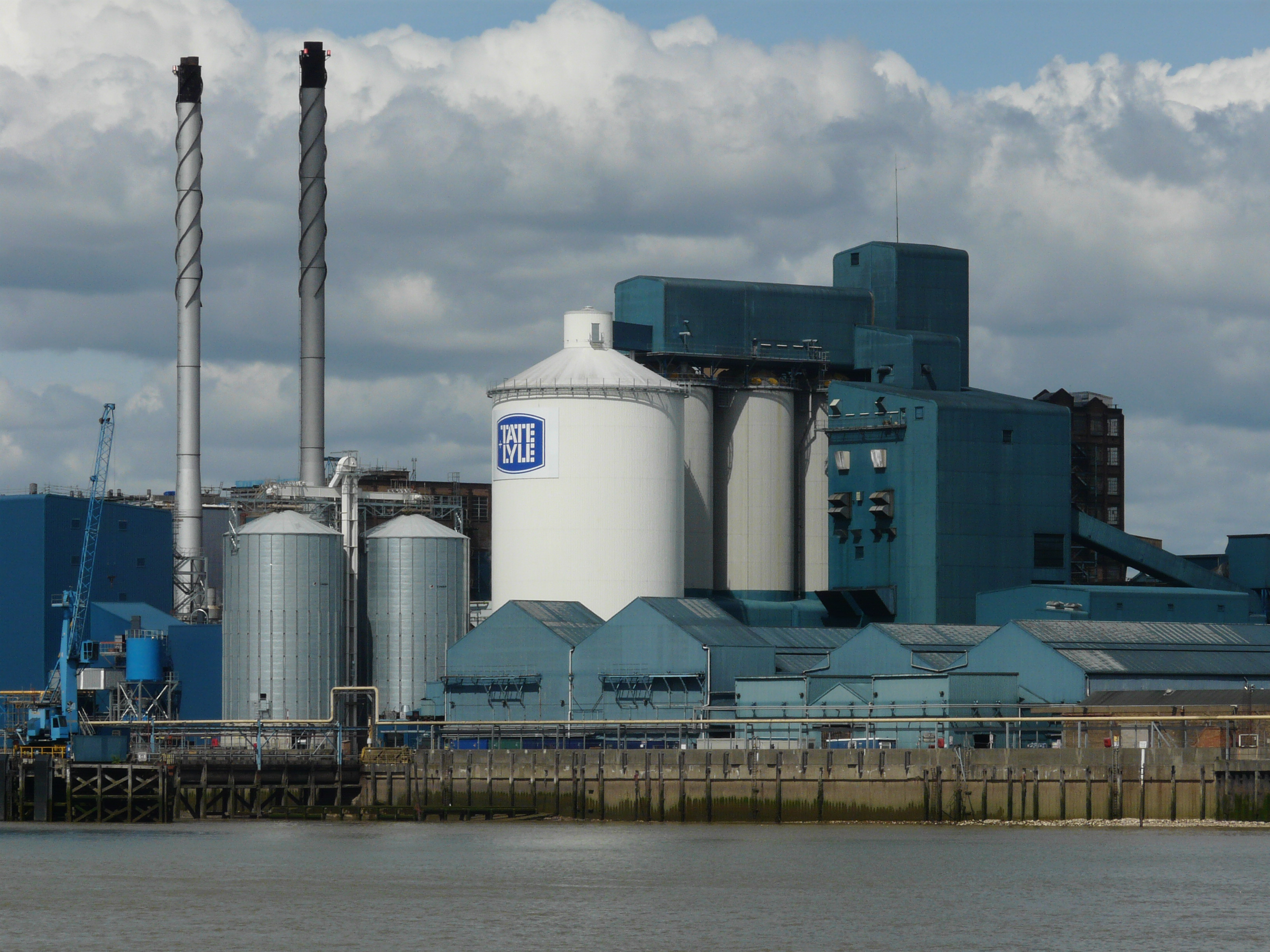 Tate and Lyle sugar refinery